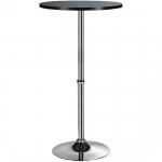 Koktejlový stôl Solo, výška 108 cm, MDF doska Ø 60 cm, hliníková podnož, O45 cm základňa