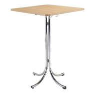 Bistro skladací stôl KLIK KLAK HIGH s doskou 70 x 70 cm