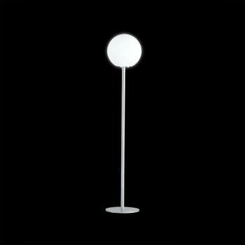 Dizajnová stojaca lampa PIANTANA GLOBO