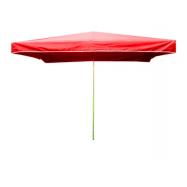 Predajný slnečník 3x2m červený 15kg