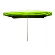 Predajný slnečník 3x2m svetlo zelený 10kg