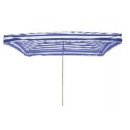 Predajný slnečník 3x2m modrobiely 8kg