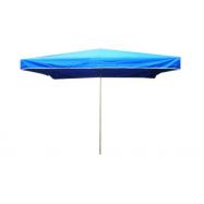 Predajný slnečník 3x2m modrý 8kg