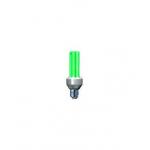 Úsporná žiarovka 15W zelená