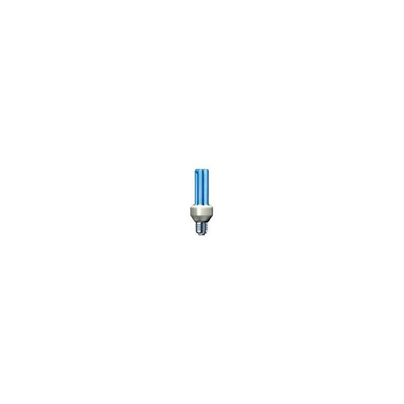 Úsporná žiarovka Slide 25W E27 modrá