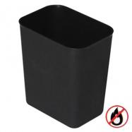 Bezpečnostný odpadkový kôš, plast, béžový, 14l