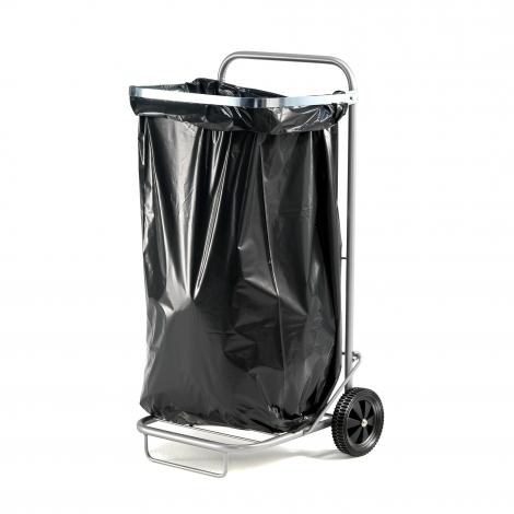 Multifunkčný vozík, 125 l, strieborný