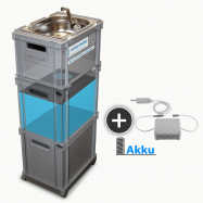 AKU Batérie, mobilné zásobovanie vodou