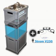 230V Batérie, mobilné zásobovanie vodou