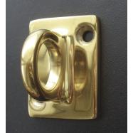 Úchyt na stenu zábranového systéme CLASSIC, zlatý
