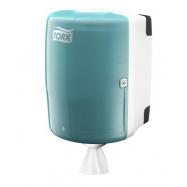 Tork Maxi zásobník na kotúče so stredovým odvíjaním - tyrkysová / biela