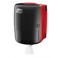 Tork Zásobník na malé kotúče - Unibox, farba čierna / červená