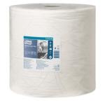 Merná jednotka: rolka. Utierka TORK Advanced 420 je určená k väčšiemu mechanickému namáhaniu, na utieranie mastnôt, olejov a farieb. Hodí sa do prevádzok s vyššou spotrebou, vhodná nautieranie sieťotlače. Dvojvrstvová utierka TORK v bielej farbe je vyrobená z hybrid papiera (jedna vrstva prvotriedny recykel, druhá vrstva TAD papier).