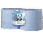 Merná jednotka: bal. Utierka TORK Advanced 420 je určená k väčšiemu mechanickému namáhaniu, na utieranie mastnôt, olejov a farieb. Hodí sa do prevádzok s vyššou spotrebou, vhodná nautieranie sieťotlače. Dvojvrstvová utierka TORK v modrej farbe je vyrobená z hybrid papiera (jedna vrstva prvotriedny recykel, druhá vrstva TAD papier).