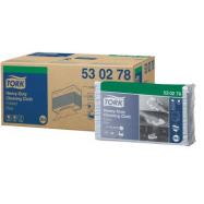 Tork Premium 530 modrá - Top Pack, skladaná, 100 ks