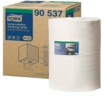 Merná jednotka: rolka. Utierka s malým zvlnením, ideálna pre prostredie citlivé na prach. Pevný materiál znamená odolnosť a opakované využitie bez roztrhania. Jemný textilný povrch umožňuje precízne čistenie. Môže byť použitá za sucha i za mokra.