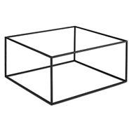 Bufetový podstavec pod nádoby, čierny gn 1/3 alebo gn 2/3
