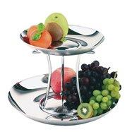 Etažér na ovocie dvojposchodový ø 330/420 mm, skladacie