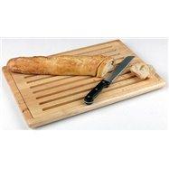 Pracovná doska na krájanie pečiva so zásuvkou na omrvinky 475x320x20 mm