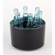 "Cooler na 6 fľaši ""Sieger design"", čierny"