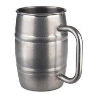Nerezový džbán na pivo 0,5 l