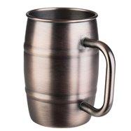 Nerezový džbán na pivo 0,5 l, medený