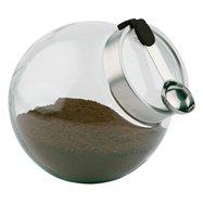 Sklenená nádoba s lyžičkou ø 200x180 mm