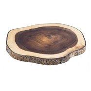 Drevené doštička na servírovanie, agát, 30 x 28,5 cm