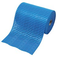 Modrá bazénová rohož Soft-Step - dĺžka 15 m, šírka 60 cm a výška 0,9 cm