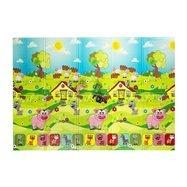 Detská skladacia penová hracia podložka Casmatino Piggy - dĺžka 200 cm, šírka 140 cm a výška 0,9 cm