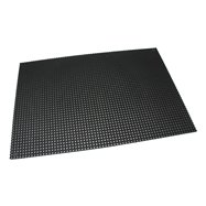Čierna gumová vonkajšia vstupná rohož Octomat Mini - dĺžka 100 cm, šírka 150 cm a výška 1,25 cm