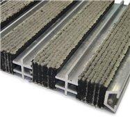 Textilné hliníková vnútorné vstupná rohož FLOMA Hardmat - dĺžka 60 cm, šírka 260 cm a výška 1,8 cm