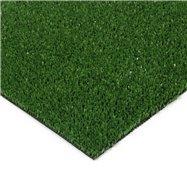 Zelená plastová čistiaca zóna FLOMA Grace - dĺžka 100 cm, šírka 100 cm a výška 0,9 cm