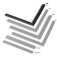 "Čierna nábehová hrana ""samec"" ""samica"" MF Safety Ramps D12 / C12 Nitrile - dĺžka 100 cm a šírka 5 cm"