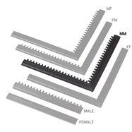 "Čierna nábehová hrana ""samec"" MF Safety Ramps D12 / C12 Nitrile - dĺžka 100 cm a šírka 5 cm"