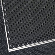 Hliníkový rám pre plastovú vstupná rohož Helix pre zapustenie do podlahy - šírka 2,7 cm a výška 1,3 cm