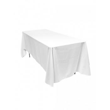 Obrus na hranatý stôl 325x325 cm, biely