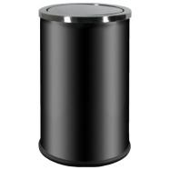 Odpadkový kôš s otočným vekom ALDA Swing 18 l, čierny