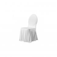 SIESTA - poťah na stoličku, biely