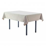 Obrus na hranaté stoly 330 x 230 cm, biely