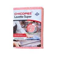 Utierky CHICOPEE Lavette Super 51x36 cm/10 ks - červené