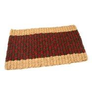 Kokosová vonkajšia čistiaca vstupná rohož FLOMA Colored Stripe - dĺžka 35 cm, šírka 60 cm a výška 2,5 cm