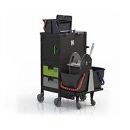 Ekologický upratovací vozík BRIX BIG COMPACT OFFICE ASS