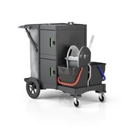 Ekologický upratovací vozík BRIX SCHOOL BIG OUTDOOR ASS