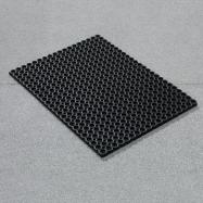 Vstupná rohož, 1000x750 mm, čierna