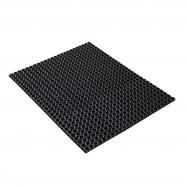 Vstupná rohož, 1500x1000 mm, čierna