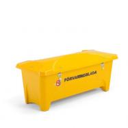 Zahradní úložný box, 475 l, žlutý