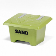Nádoba na posypový materiál, 65 l, zelená