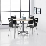 Jedálenská stolička Milla, čierna