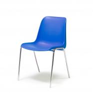 Plastová stolička Sierra, modrá